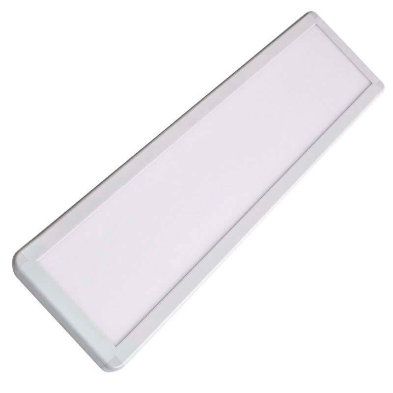 Panel LED de superficie 50W,  30x120cm, Blanco frío